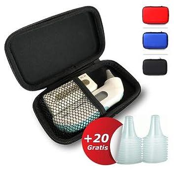 Bolsa para el termómetro de oído Braun ThermoScan | GRATIS: 20 FUNDAS DESECHABLES DE RECAMBIO | Estuche de viaje | Ideal para el almacenamiento del ...