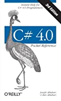 C# 4.0 Pocket Reference, 3rd Edition Front Cover