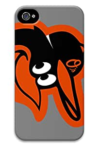 TNTcase MBL American League Baltimore Orioles Team Logo PC Hard new iphone 4 case for girls protective