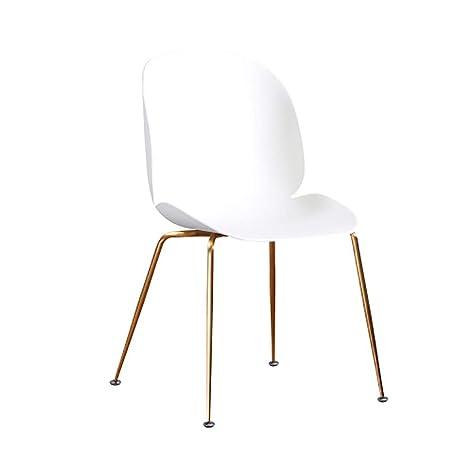Amazon.com: Silla de comedor YXX sin brazos respaldo sillas ...