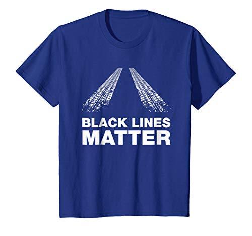 Making Black Lines Matter - Funny Car Guy T-shirt