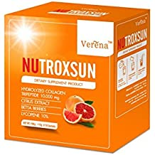 Nutroxsun 360 UVA UVB Natural Dietary Supplement Sunscreen (15g * 10sachets)