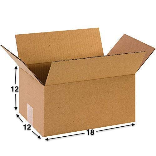 Boxzie 5 Ply 18x12x12 Corrugated Packaging Boxes, Shipping Boxes, 18x12x12 Inches, Pack of 10 Boxes Price & Reviews