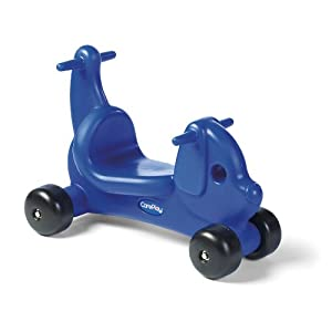 Careplay Ride-On Play Puppy Critter, Blue