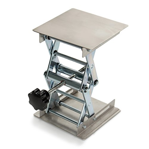 NKTM Lab Stand Lifting Platform, Stainless Steel Laboratory for sale  Delivered anywhere in USA