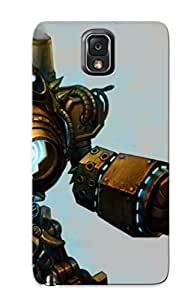 Crazinesswith Faddish Phone Blitzcrank League Of Legends Case For Galaxy Note 3 / Perfect Case Cover