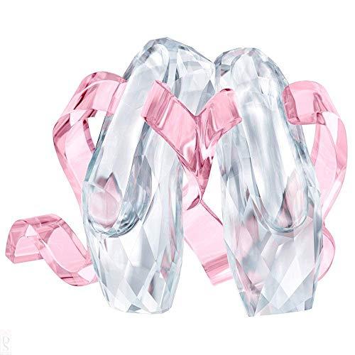 - Swarovski Ballet Shoes Figurine Crystal Multicoloured Light 4.1 x 5.3 x 4 cm