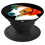 Jack Russell Terrier Pet Dog Owner Phone Holder Grip - PopSockets Grip and Stand for Phones and Tablets