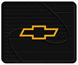 Chevy Gold Bowtie Factory Style Molded Utility Mat- 14\