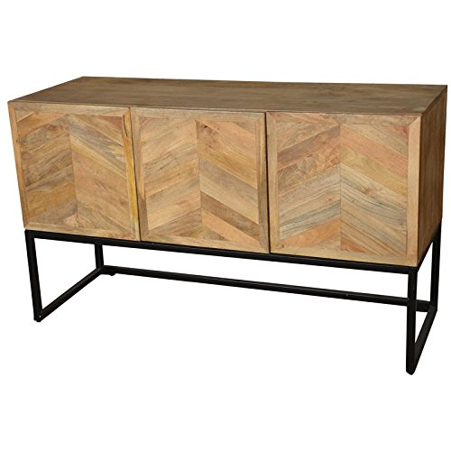 Wageningen Storage Buffet Table with Winerack from Home and Garden Direct