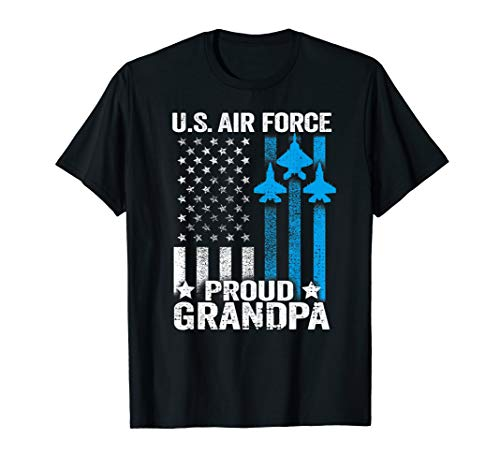 - Proud Grandpa US Air Force T Shirt - USAF Shirt