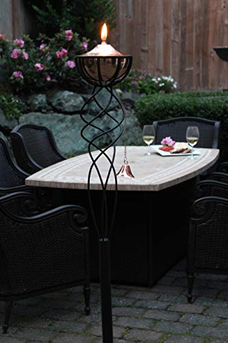 Sunset Elegance Sonoma Copper Patio Torch by Sunset Elegance (Image #2)