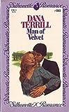 Man of Velvet, Dana Terrill, 0671571818