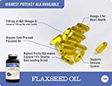 NatureWise Organic Flaxseed Oil Max 720mg ALA