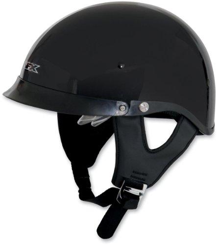 r Lens Half-Style Beanie Helmet, Black 0103-0732, Size: 2XL (Afx Beanie Half Helmet)
