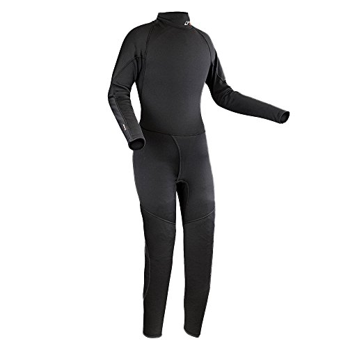 Ocean Rodeo No Zip Fleece Drysuit Liner, Large, Black ()
