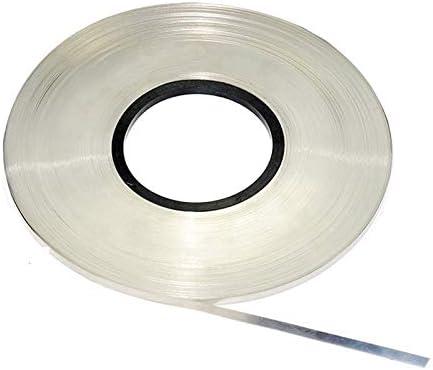 0.1 x 8mm 1kg Nickel Plated Steel Strap Strip Sheets for battery welder E