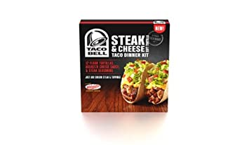 Taco Bell Steak and Cheese Taco Dinner Kit, 15.7 Ounce