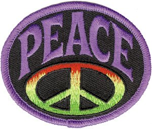 C&D Visionary P-3470 Peace Signs Patch C&D Visionary Inc.