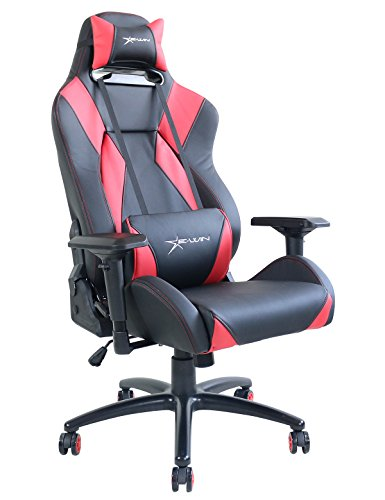 Ewin Chair Hero Series Ergonomic Computer High-Back Executive Gaming Office Chair with Pillows-HRC (Black/Red) Review