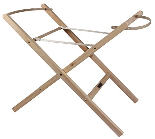 Clair de Lune Folding Moses Basket Stand