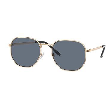 YYXXZZ Gafas de sol Gafas de Sol de Mujer Poligono Cuadrado ...