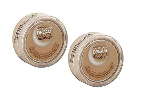 2 Pack Maybelline New York Dream Smooth Mousse Foundation #255