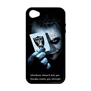 Personalized Unique Design NFL Oakland Raiders Iphone 4 4S PC Case