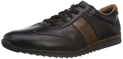 Sneakers schwarz basse Nero mogano Rieker 19324 00 per uomo Anw5WqTSq