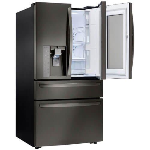 LG LMXC23796D ft. Black 4-Door French Door Counter Depth