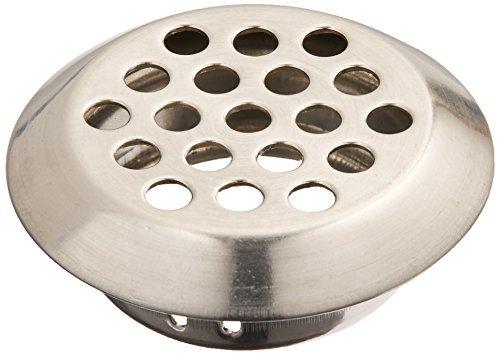 Início Hardware 25 milímetros inferior Diâmetro redonda de metal Air Vent Louver (Redondo Air)