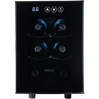 haier 6 bottle wine cellar with electronic controls awesome portable wine cellar