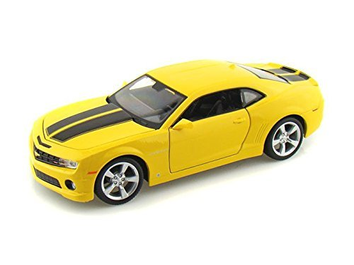 (Buengna 2010 Chevy Camaro RS SS 1/24 Yellow w/ Black Stripes)