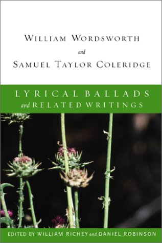 Lyrical Ballads and Related Writings (New Riverside Editions)