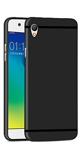 Thinkzy OP1-SM1 Soft Back Case Cover for Oppo A37 (Black)