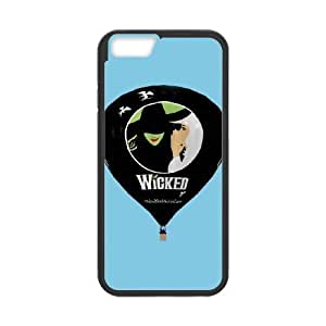 Personalized Durable Cases iPhone 6 Plus 5.5 Inch Black Phone Case Qnfjc Musical Wicked Protection Cover