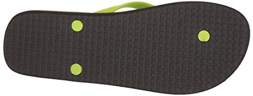 DC Männer Spray Graffik M 3 Point Sandal, EUR: 43, Black/Fluorescent Gr