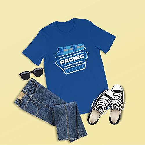 Paging Mr. Morrow Shirt, Disney Shirts, Peoplemover Shirts, Mister Tom Morrow, Disney World Shirts, Disney Family Shirts, Tomorrowland