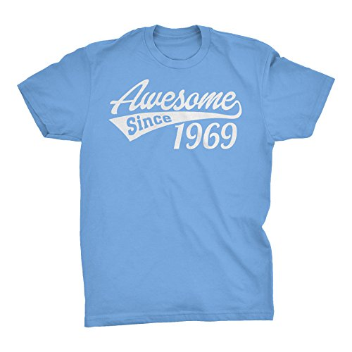 (50th Birthday Gift T-Shirt - Awesome Since 1969 -)