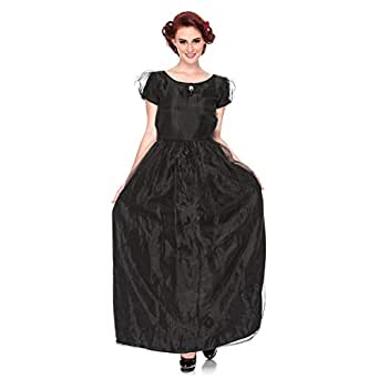 Polka Dot Cat Black Polyester Special Occasion Dress For Women
