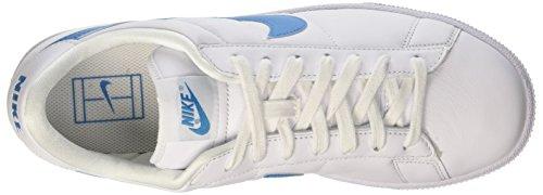 Nike Herren Tennis Classic Turnschuhe, Talla Blanco / Azul (White / Orion Blue)