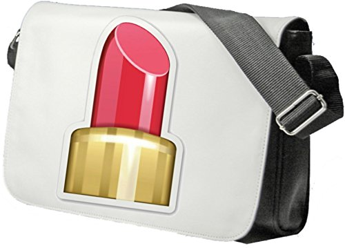 Schultertasche Lippenstift Emoji Schultasche, Sidebag, Handtasche, Sporttasche, Fitness, Rucksack, Emoji, Smiley