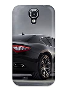 Galaxy S4 Case, Premium Protective Case With Awesome Look - Attractive Maserati Car