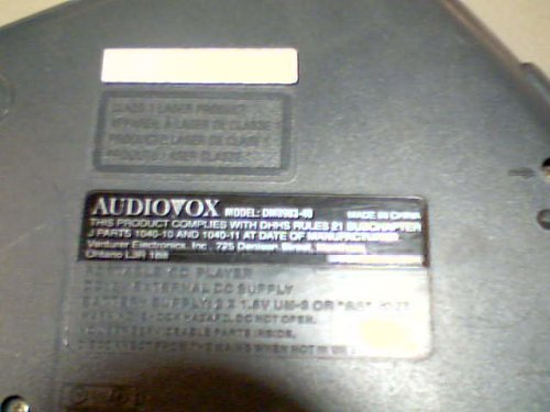 Venturer Electronics, Inc. Venturer Audiovox Model:dm8903-40 Portable Cd Player Compact Disc Digital Audio 40 ESP 40 Second electronic Skip Protection Cd Player (Grey/black Color Version) by Venturer Electronics, Inc. Venturer Audiovox (Image #2)