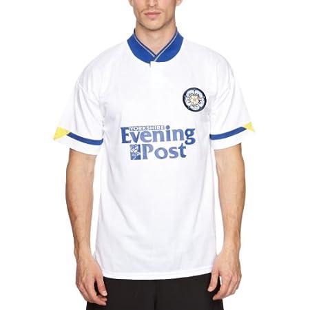 Score Draw Official Retro Leeds United 1992 Men's Football Shirt 4173ZP1128L
