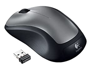 Logitech M310 - Ratón (RF inalámbrico, Plata, AA, Óptico, Windows XP/Vista/7 Mac OS X 10.4, USB)