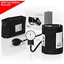 MDF® Calibra® Aneroid Premium Professional Sphygmomanometer - Blood Pressure Monitor with Adult Cuff &