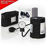 MDF® Calibra Aneroid Sphygmomanometer -Blood Pressure Monitor - Black