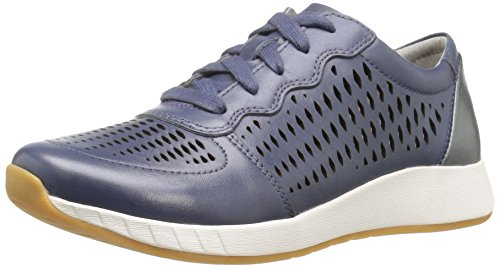 buy cheap outlet store sale real Dansko Women's Charlie Fashion Sneaker Blue Leather limited edition cheap price free shipping fashion Style with mastercard sale online t0G7x