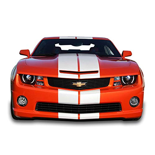 Bubbles Designs Full Stripe Kit Sticker Decal Graphic Compatible with Chevrolet Camaro SS 2010-2015 16 ()